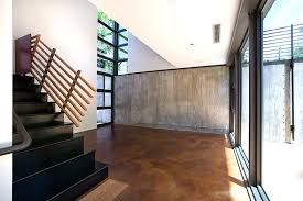 light stained concrete floors austin stained cement floors staircase industrial with entry modern