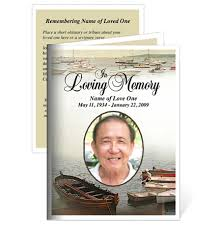 funeral card memorial cards fishing small funeral card template