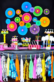 blacklight party supplies kara s party ideas neon glow in the birthday party