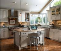 painted kitchen cabinet ideas photos creamy gray cabinets painted