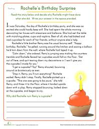 free reading comprehension worksheets for 4th grade free
