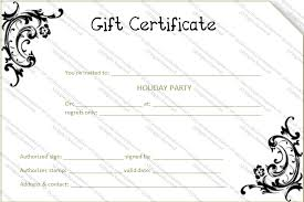 flower template gift certificate templates