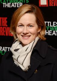laura linney feathered hair laura linney spotted in the jane carr feather carré at the the