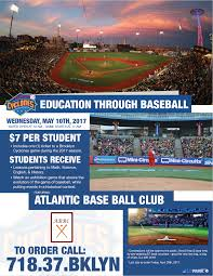 brooklyncyclones com education through baseball