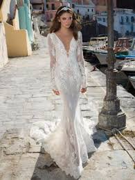 robe mariã e sirene robe de mariée coupe sirène couronnes fleuries mariage