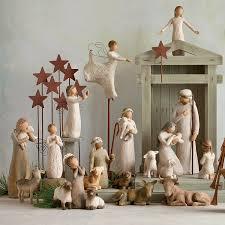 home interior figurines amazon com willow tree little shepherdess 3 piece set of figures