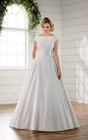 wedding dresses with sleeves modest wedding dress with sleeves essense of australia