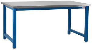 kennedy workbench with formica laminate top and round front edge