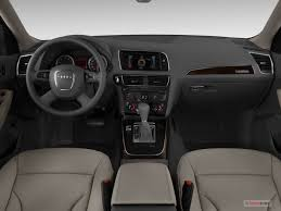 audi q5 interior 2013 2012 audi q5 quattro 4dr 3 2l premium plus specs and features