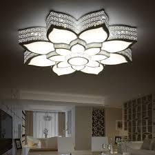 bedroom lighting fixtures modern led crystal ceiling lights kristal acrylic brief living l