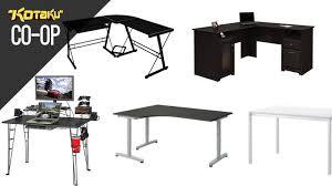 Best Gaming Corner Desk Sweetlooking Best Desk For Gaming Home Designing