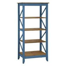 Blue Bookcases Bookcase Blue Bookcases Home Office Furniture The Home Depot