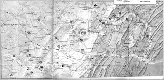 Pennsylvania Counties Map by Bridges And Tunnels Of Allegheny County And Pittsburgh Pa