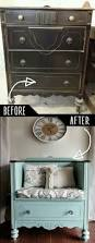 best 25 shabby chic bedrooms ideas on pinterest shabby chic 39 clever diy furniture hacks unused old dresser turned bench