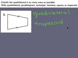 11 3 classifying quadrilaterals youtube