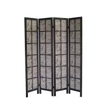 4 panel room divider shelves room divider 67 x 60 paris folding screen 4 panel