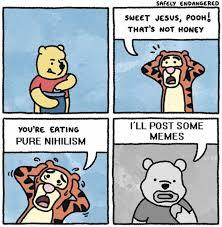 Sweet Jesus Meme - dopl3r com memes safely endangered sweet jesus pooh thats not