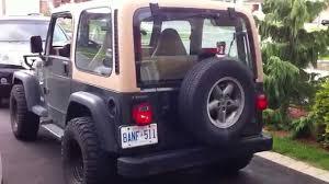1997 Wrangler Sport 1997 Jeep Tj Sport 4 0 V6 Startup Engine U0026 In Depth Tour Youtube