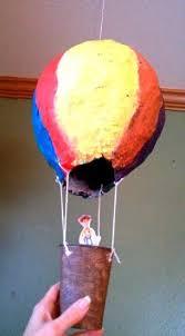 How To Make Paper Air Balloon Lantern - a paper mache air balloon thriftyfun