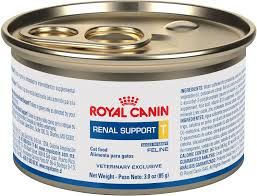 royal canin veterinary diet renal support t canned cat food 3 oz