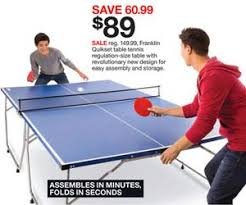 black friday ping pong table deals franklin quikset table tennis deal at target black friday sale