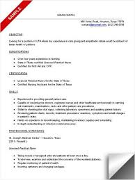 sample resume lpn professional lpn resume templates to showcase
