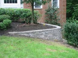 Types Of Patio Pavers by Signs Your Retaining Wall Needs Repairing Stone And Patio