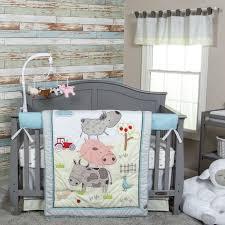 Farm Crib Bedding Colorful Farm Baby Bedding
