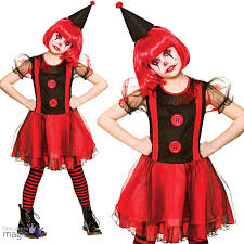 halloween costumes for girls scary kids girls teen scary circus horror evil clown halloween fancy