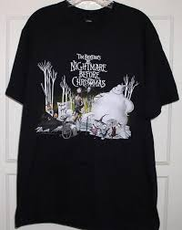 nightmare before t shirt tim burton for sale