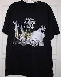 nightmare before t shirt tim burton for sale