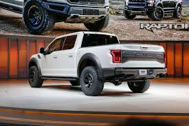 Ford Raptor Colors - 2017 ford raptor supercrew revealed at detroit autoshow