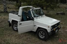 jeep daihatsu blizzard diesel 4x4 soft top land cruiser jeep