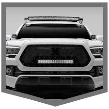 tacoma grill light bar zroadz creates led mounting solutions for 2016 toyota tacoma trucks