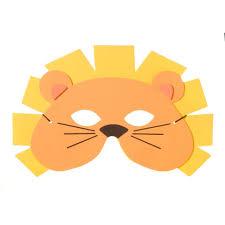 lion mask foamies lion mask