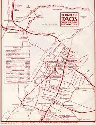 Map Of Taos New Mexico by Taos Ski Resort