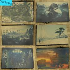 Skyrim Home Decorating Guide Online Buy Wholesale Skyrim Poster From China Skyrim Poster