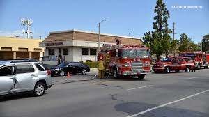 lexus of van nuys service los angeles city firefighters had to use the jaws of life to save