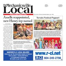 07 01 2015 by the mechanicsville local issuu