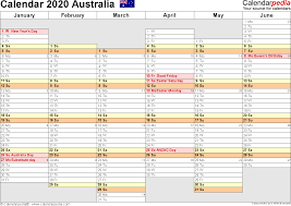 weekly planner word template australia calendar 2020 free word calendar templates template 6 2020 calendar australia for word months horizontally 2 pages days