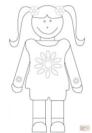 daisy coloring free printable coloring pages