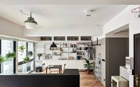 architects turn a cramped apartment into a gorgeous loft where the