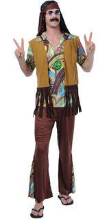 Hippie Halloween Costumes 60s Peace Man 60s Woodstock Hippie Hippy Mens Fancy Dress