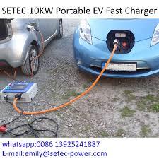 lightweight 10kw 20a ev fast charger for nissan leaf buy