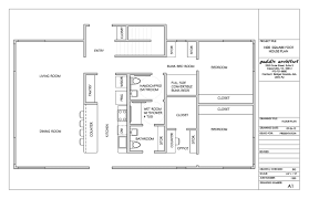 1500 sq ft bungalow floor plans real simple house plans