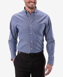 hilfiger s classic fit indigo twill dress shirt dress