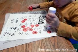 letter z activities for preschoolers the measured mom