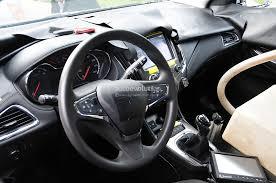 Chevy Cruze Ls Interior Spyshots 2016 Chevrolet Cruze Interior Revealed Autoevolution