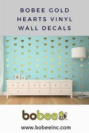 Heart Wall Stickers For Bedrooms Small Heart Wall Decals For Baby U0027s Room Or Modern Home Gold