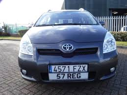 toyota corolla verso 1 8 vvt i 7 seats 2008 for sale at the lhd
